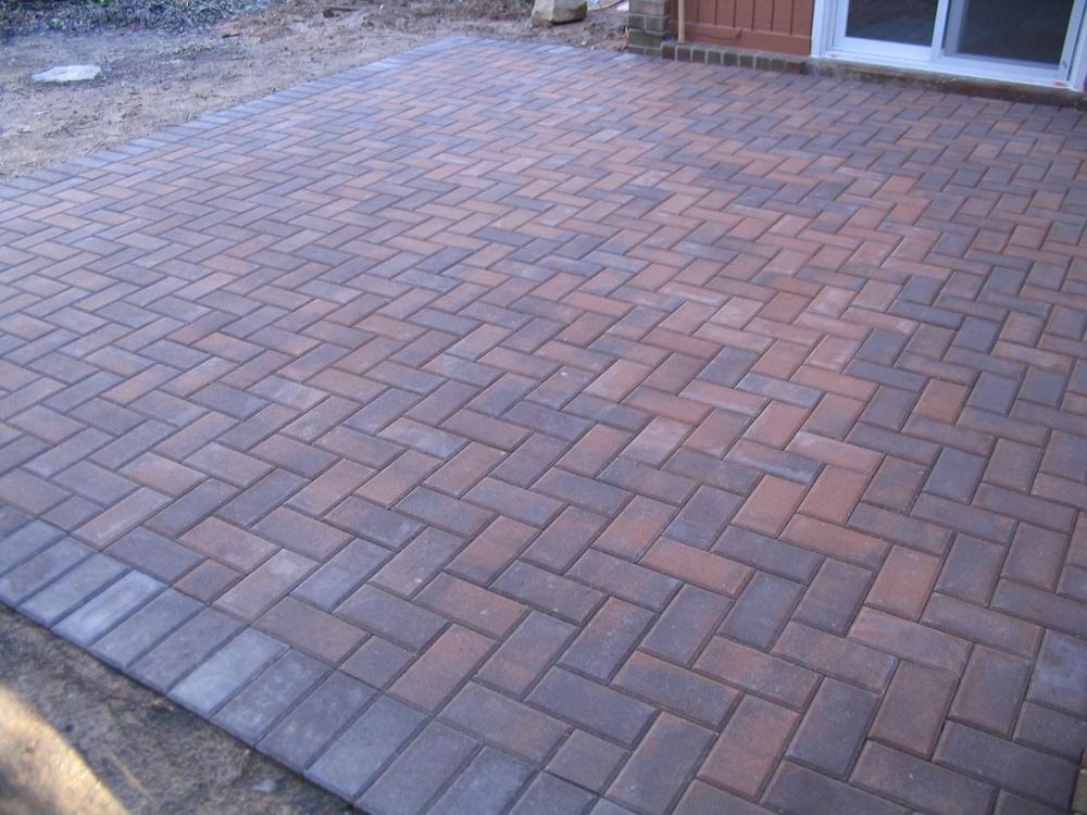 1000+ images about brick patio on Pinterest on Backyard Brick Patio id=36415