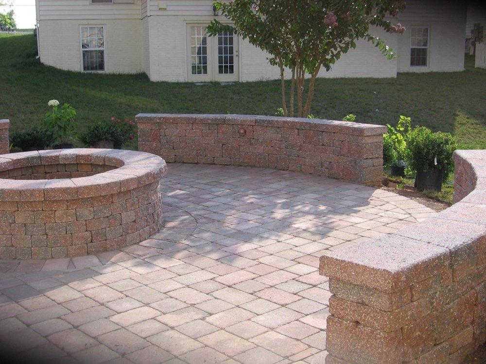 Brick Patio Walls images